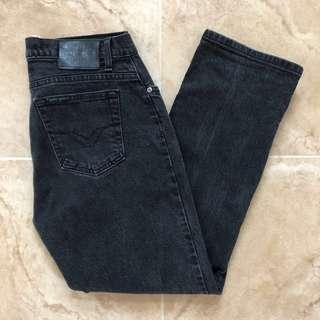Harley Davidson Mid-Rise Black Denim Mom Jeans