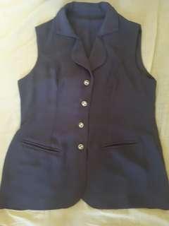 Semi Blazer U Can See Purple