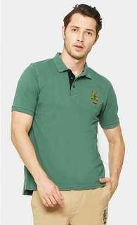 Yellow Robotto Signature Polo Shirt-MillenniumJade #GAYARAYA