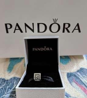 Pandora 潘朵拉 純銀字母 F 魅力字母 925純銀 墜飾 串珠 alphabet 已絕版