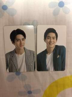 🚚 WTS EXO Sehun Suho EXO-Love dome pc/sticker