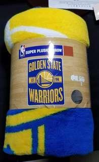 Golden State Warriors Plush Blanket