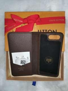Brand New Louis Vuitton iPhone Case for 7/8 Plus in Monogram Brown