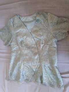Set Top & Skirt Brokat
