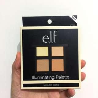Elf illuminating palette 四色修容盤 打亮
