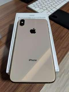 Gold Iphone XS Max 256GB