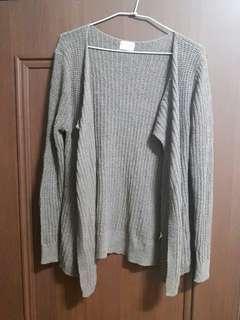 🚚 灰褐色針織外套