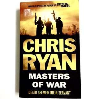 Masters of War by Chris Ryan (thriller novel book)