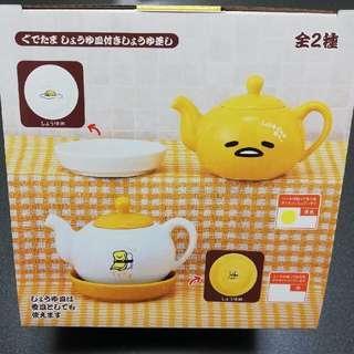 日本 Eikoh 蛋黃哥陶瓷小茶壺
