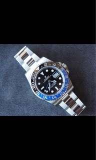 Buying Rolex GMT-Master II 116710BLNR BATMAN