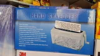太子店 環保手動碎紙機 A4家用 paper shredder