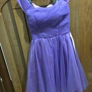 🚚 紫色小禮服