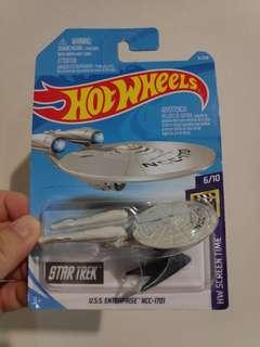 Hot Wheels USS Enterprise NCC-1701 Star Trek