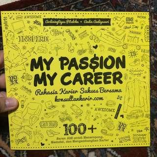 My passion my career book