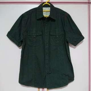 Kickers EUR S Size 36 Hunter Green Shirt in Mint Condition