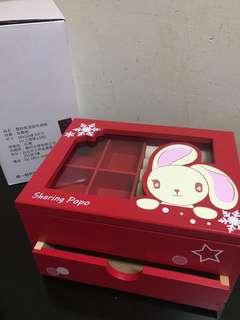 🚚 雪鈴兔💍首飾收納盒