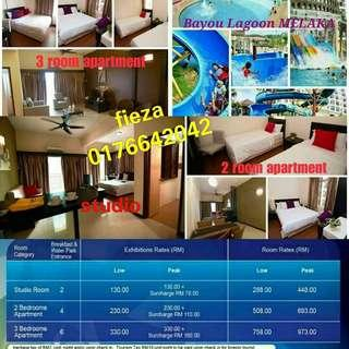 Bayou lagoon melaka RM130