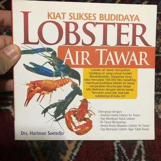 Buku budidaya Lobster Air Tawar
