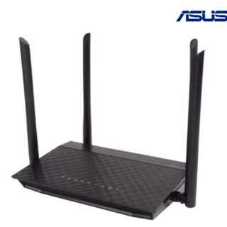 Asus Certified RT-AC1200 Dual-Band Wi-Fi Router with four 5 DBi Antennas and Parental Controls