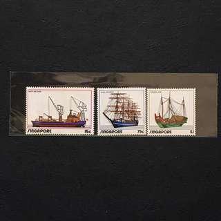 Singapore 1972 Shipping full set of 3v MnH
