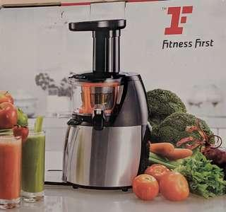 🚚 Fitness first slow juicer