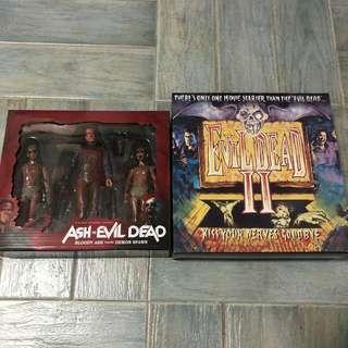 Neca Evil Dead 2 and Ash vs Evil Dead