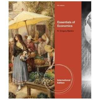 🚚 Essentials of Economics 6th (N. Gregory Mankiw) 經濟原文書