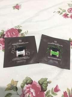 2 pcs Clay Mask The Body Shop