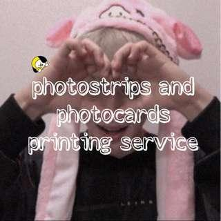 [NOT TAKING ANYMORE ORDERS] photostrips and photocards printing service