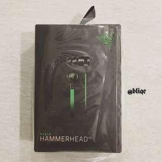 Razer Hammerhead V2 In-Ear Music & Gaming Headset.