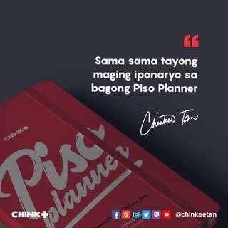 Piso Planner by Chinkee Tan