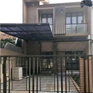Rumah baru renovasi total dekat banget ke tol jatiwaringin( gugus)