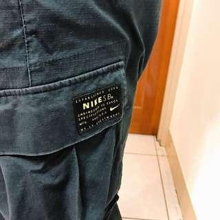 🚚 二手 NIKE舒適透氣軍褲工作褲百搭褲型 黑灰色