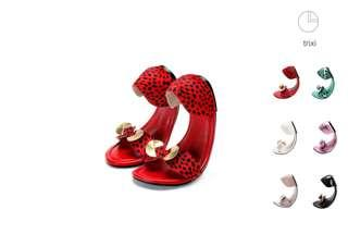 Angeline Lee shoes in red