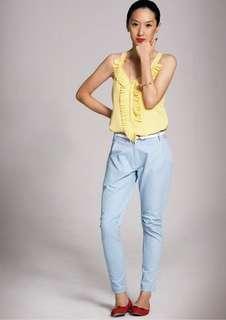 aalis's Adriana top in lemon