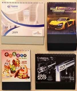 Calendar 2019 for FREE