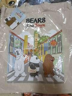 🚚 The Bare Bears sling bag