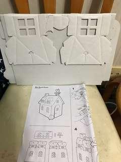 Mini Rural House 塗鴉 紙皮小屋 Messy Play (無盒)