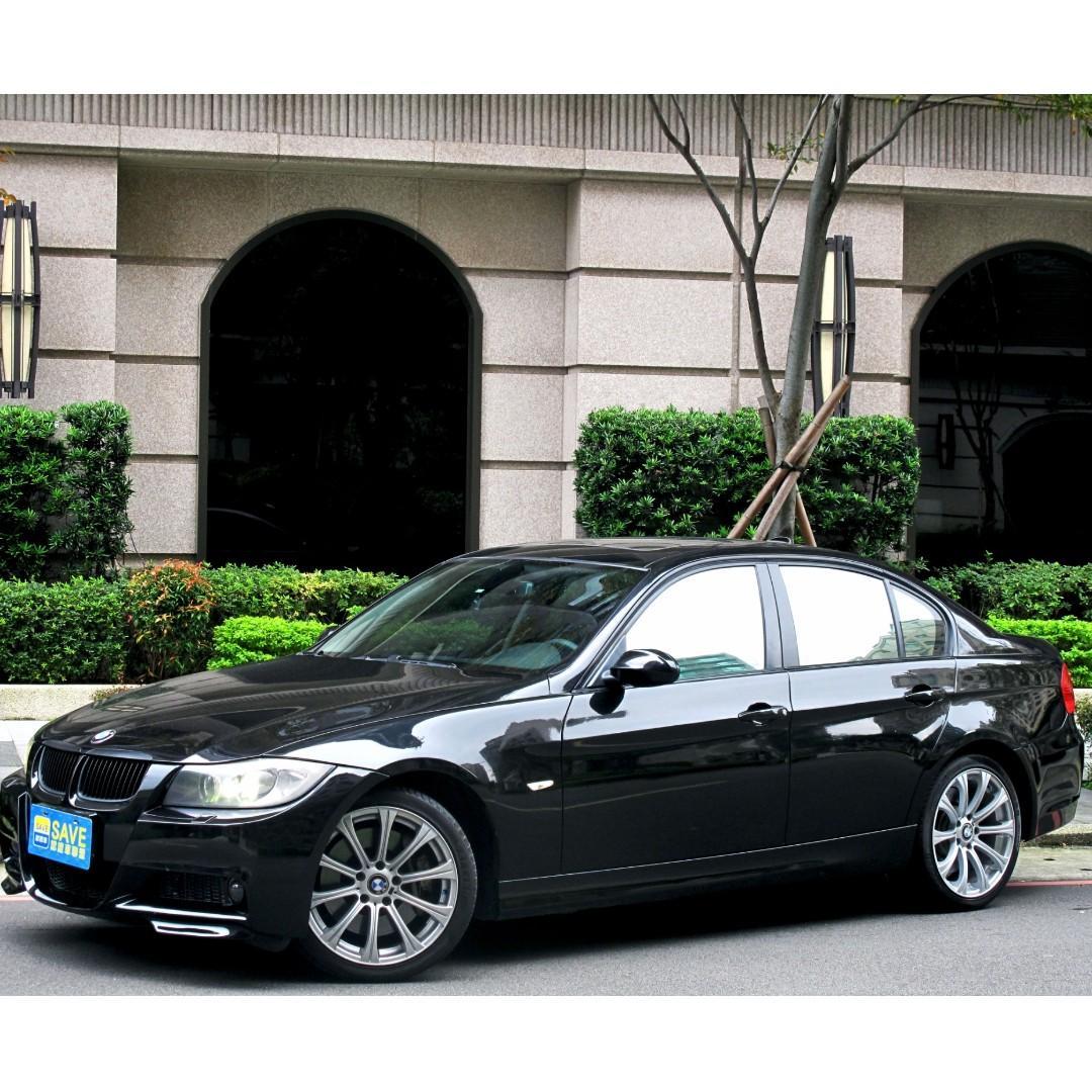 320D柴油 總代理 BMW熱銷車 M空力套件 M鋁圈 四出尾管 光感HID大燈 倒車顯影 安全氣囊x6357