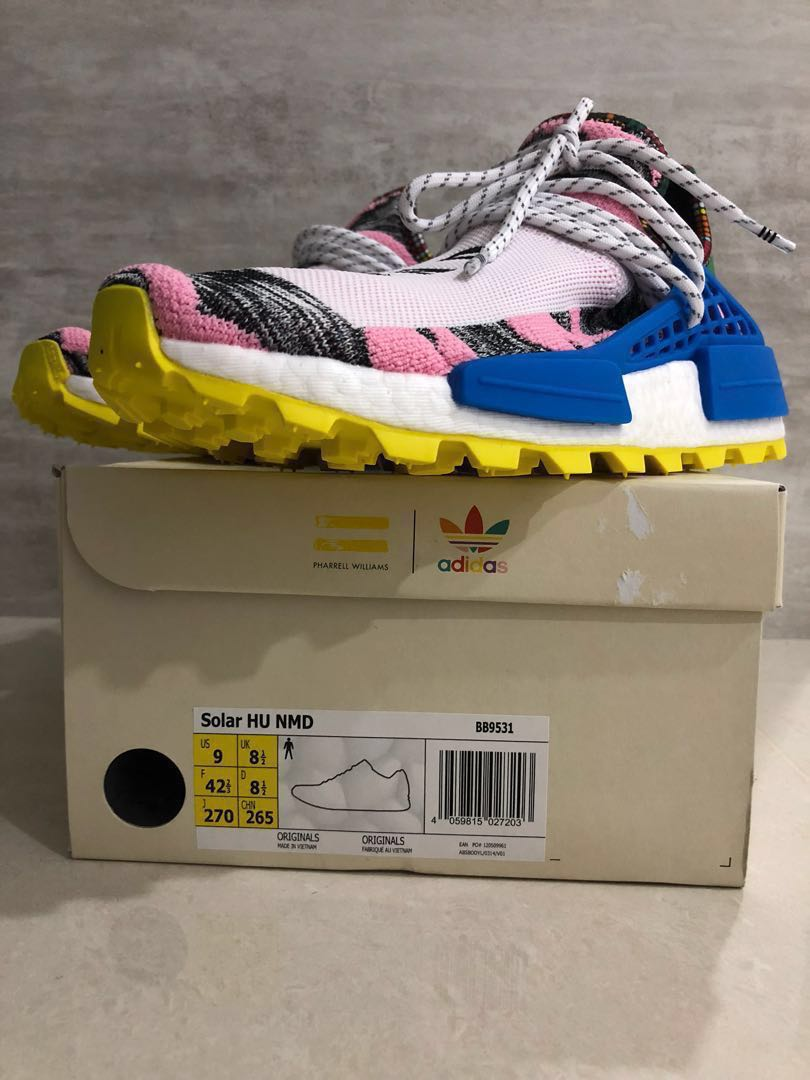 e29cdf9d8e46a Adidas HU NMD Pharrell UK8.5 US9 New