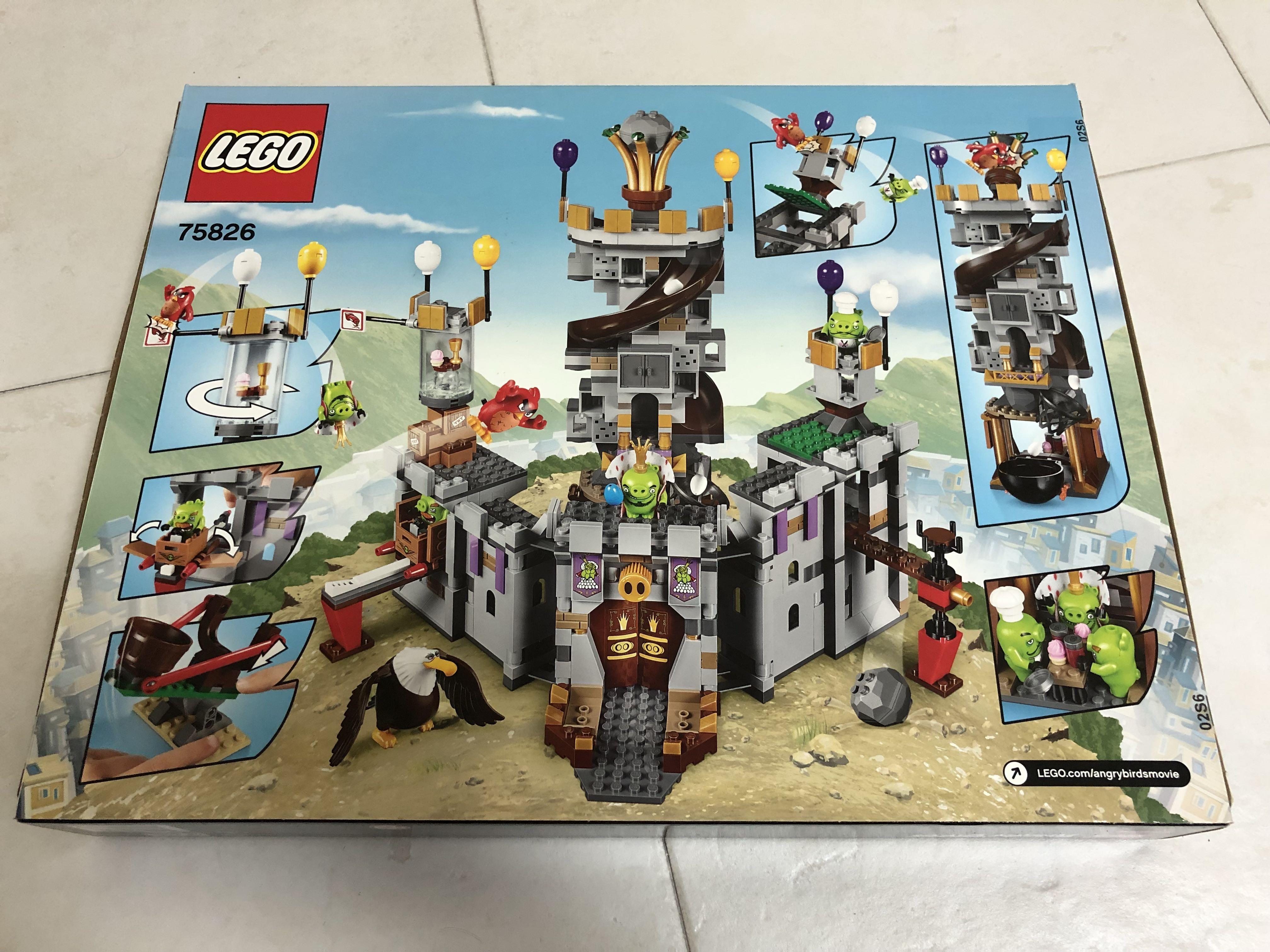 Lego ANGRY BIRDS 75826 King Pig/'s Castle MISB