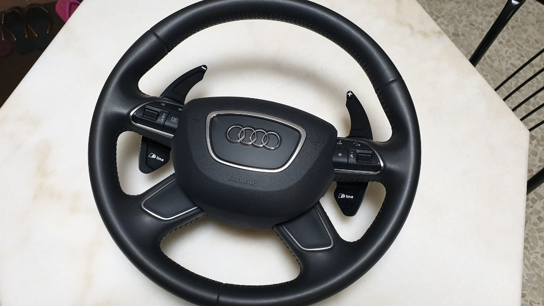 Audi A3 8v Steering Wheel With Airbag Car Accessories Accessories On Carousell