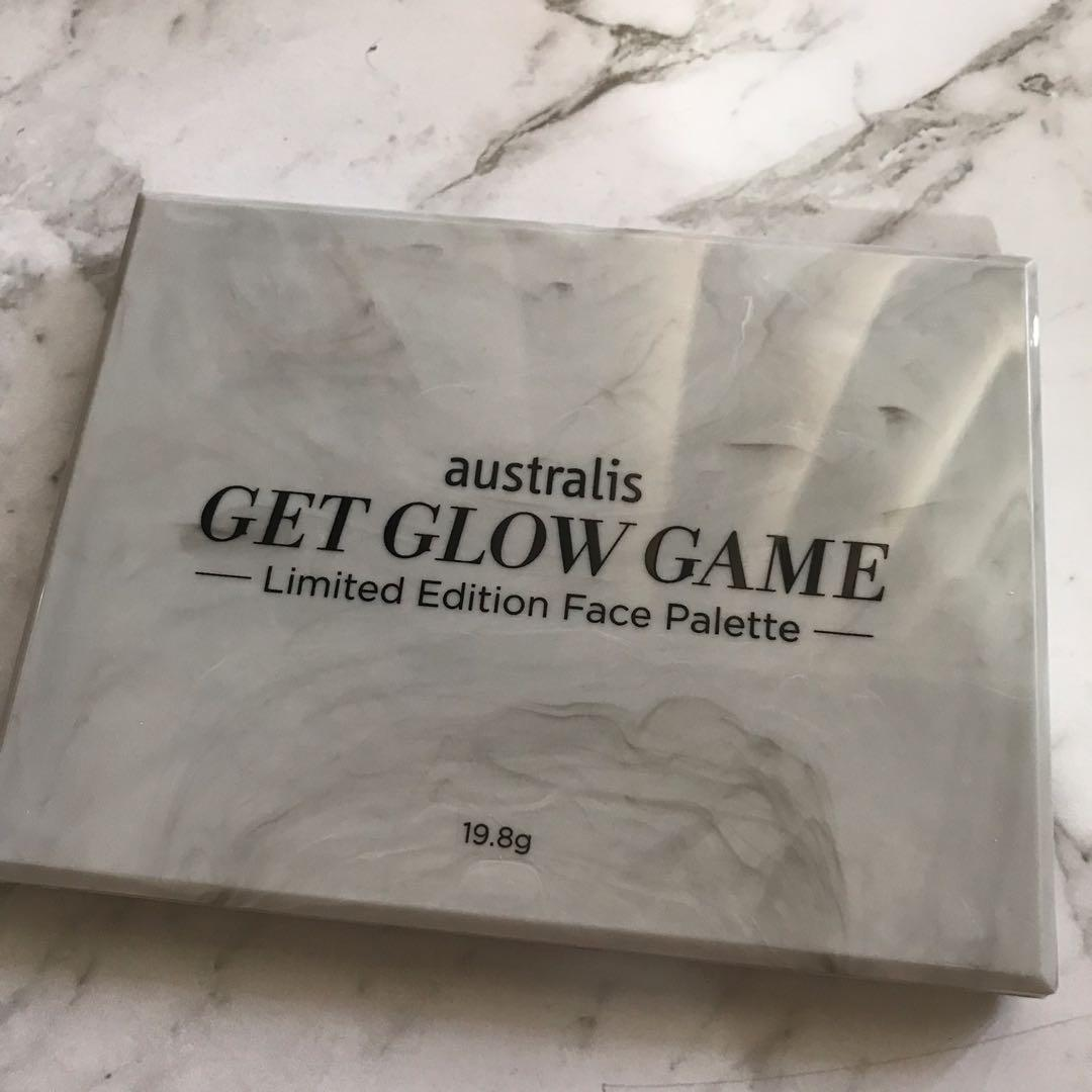 Australis get glow game limited edition highlighting palette