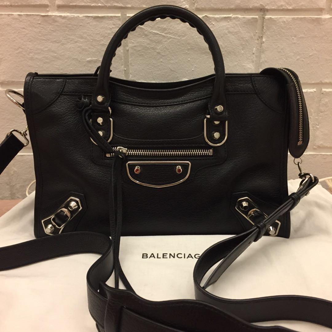 eabb735cca99 Balenciaga Classic Metallic Edge Small City Bag