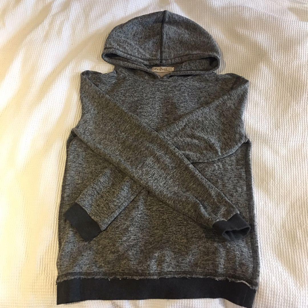 Basic marble grey hoodie