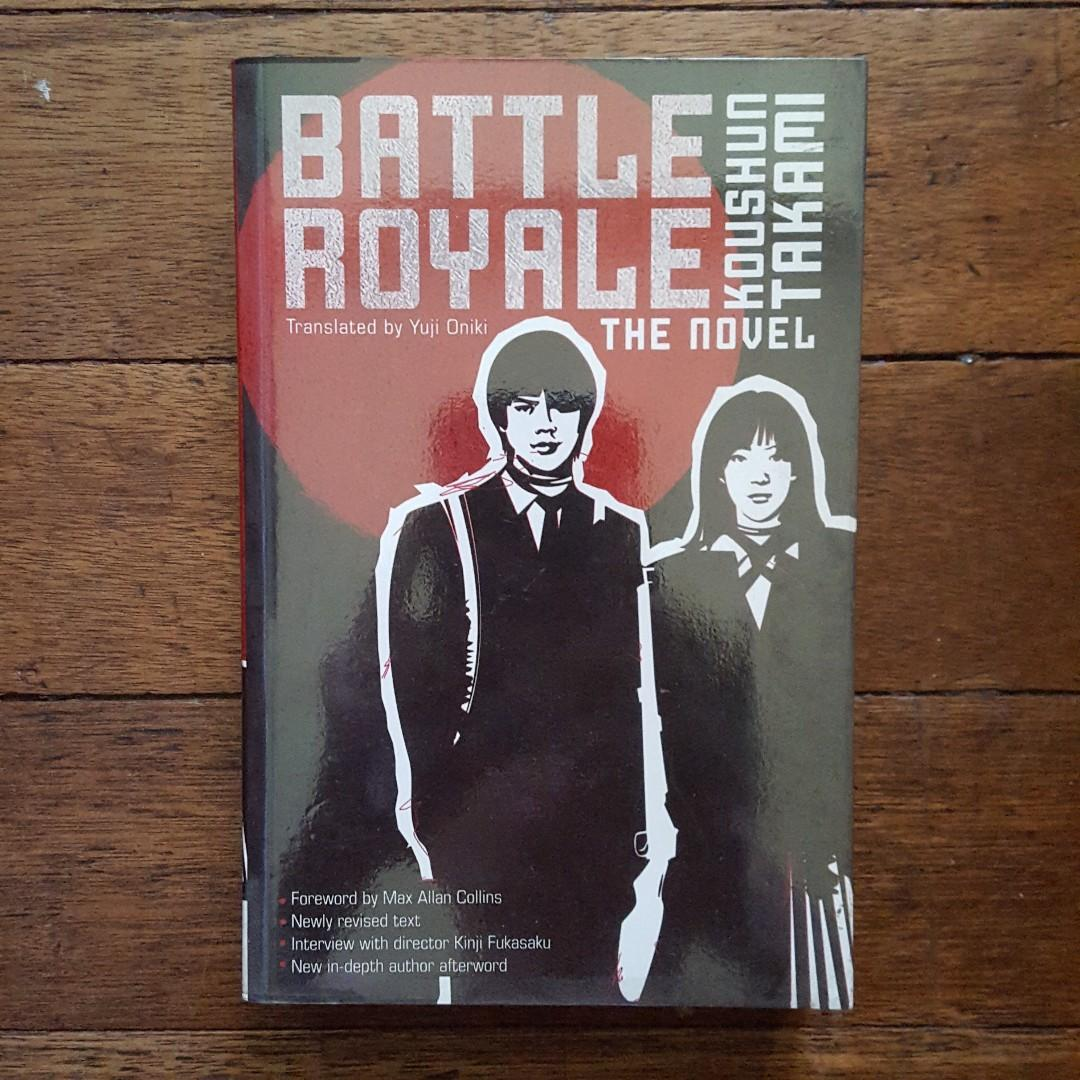 Battle Royale by Koushun Takami on Carousell