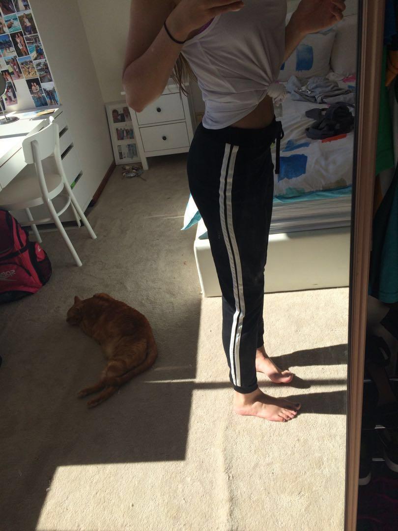 Black Trackpants