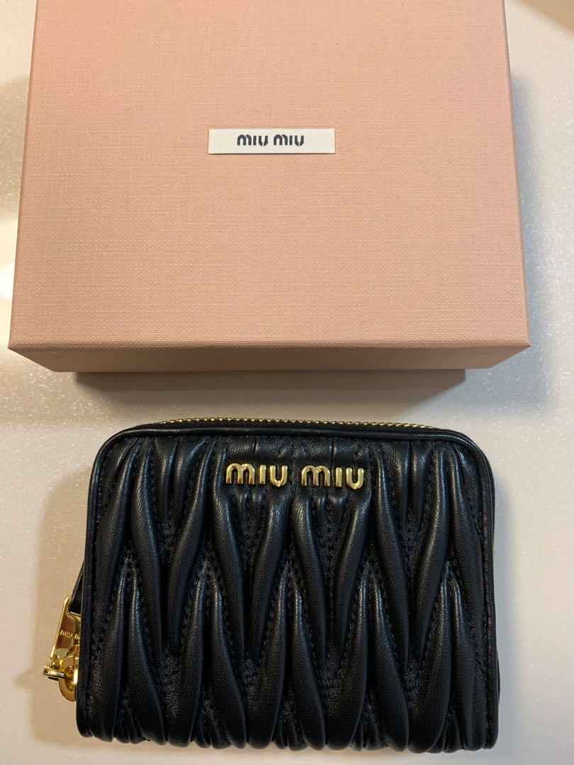 1272c7e1dde Brand New Miu Miu small wallet