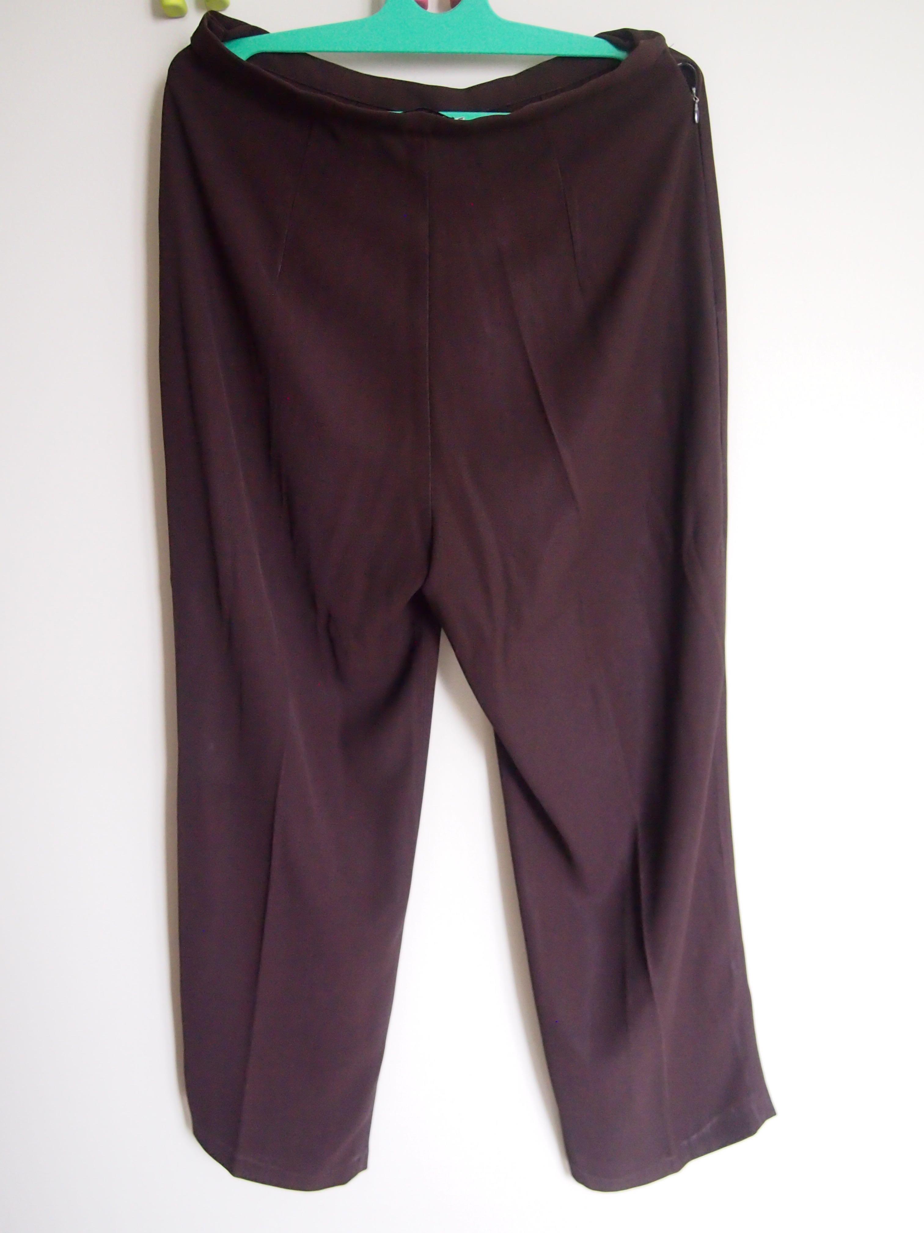 Celana Bahan coklat