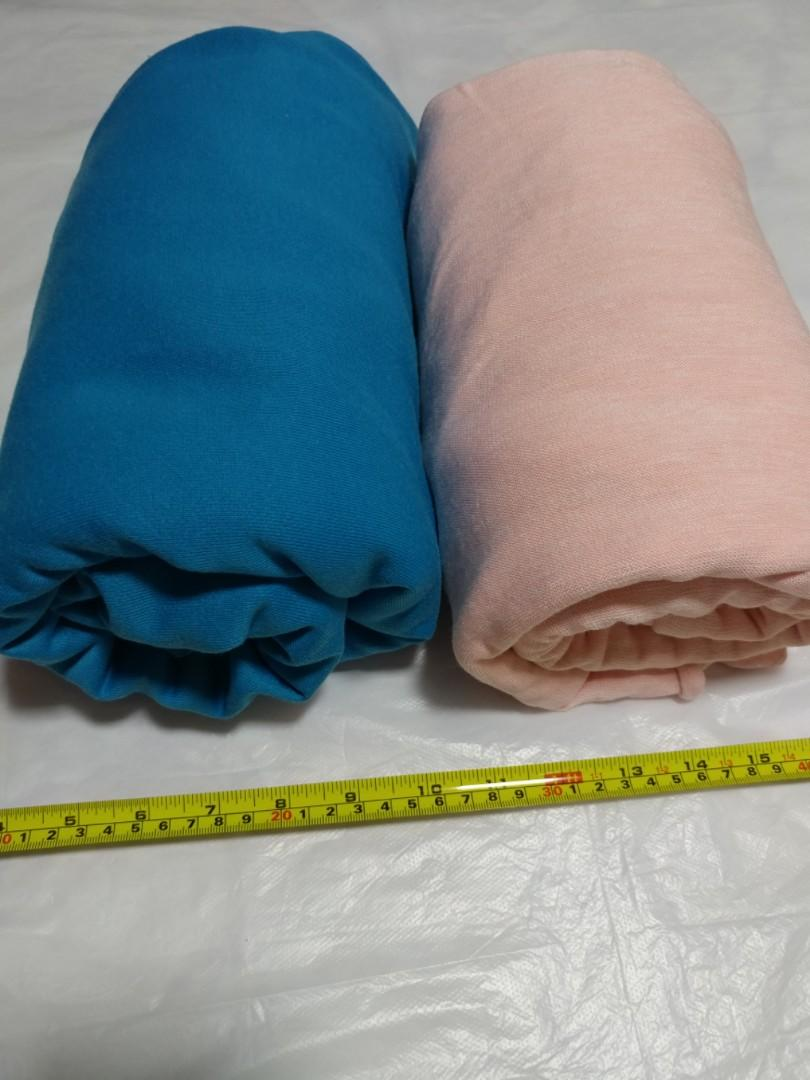 [Clearance/ Sales] Blue/ Pink Large Fabric Set - DIY/ Handmade/ Craft Accessories